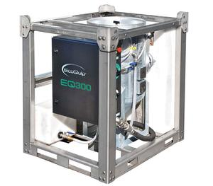 EcoQuip EQ 300S Rental Services Vapor Sandblasting Equipment