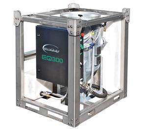 EcoQuip EQ 300S Rental Services Vapor Sandblasting Equipment